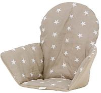 Чехол на стульчик для кормления Polini Kids Antilop звезды (макиято) -
