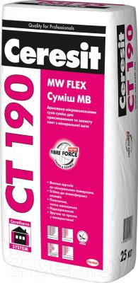 Клей для теплоизоляционных плит Ceresit CT 190 (25кг)