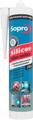 Герметик силиконовый Sopro 052 00 (310мл, прозрачный)