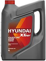 Моторное масло Hyundai XTeer Gasoline G500 10W40 / 1061044 (6л) -