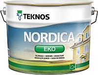 Краска Teknos Nordica Eko House Paint Base 3 (900мл) -