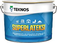 Краска Teknos Superlateksi Base 1 (900мл, белый) -