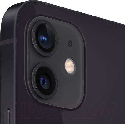 Смартфон Apple iPhone 12 64GB / MGJ53 (черный)