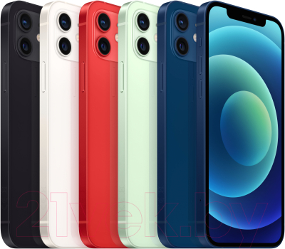 Смартфон Apple iPhone 12 128GB / MGJE3 (синий)