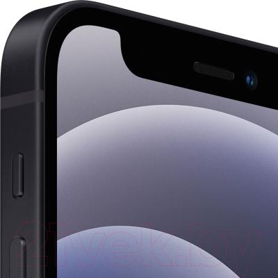 Смартфон Apple iPhone 12 Mini 64GB / MGDX3 (черный)