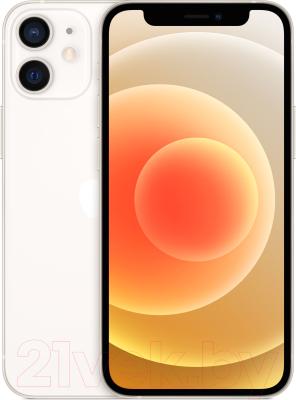Смартфон Apple iPhone 12 Mini 64GB / MGDY3 (белый) смартфон apple iphone 6s как новый 64gb розовое золото