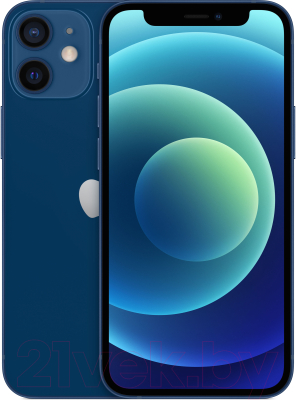 Смартфон Apple iPhone 12 Mini 64GB / MGE13 (синий)