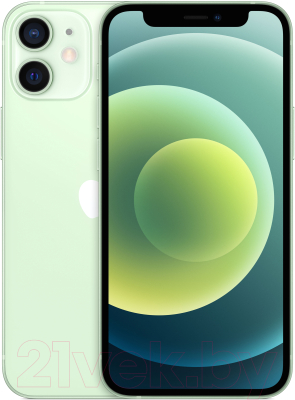 Смартфон Apple iPhone 12 Mini 64GB / MGE23 (зеленый) смартфон apple iphone 6s как новый 64gb розовое золото