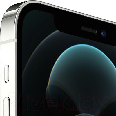 Смартфон Apple iPhone 12 Pro 128GB / MGML3 (серебристый)