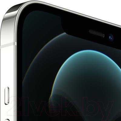 Смартфон Apple iPhone 12 Pro Max 128GB / MGD83 (серебристый)