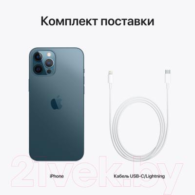 Смартфон Apple iPhone 12 Pro Max 256GB / MGDF3 (тихоокеанский синий)
