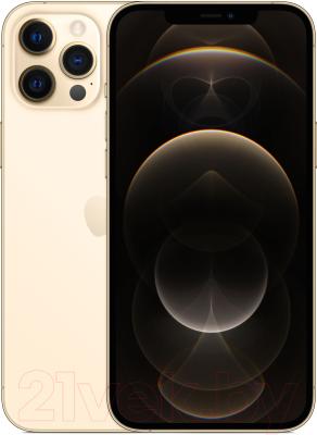Смартфон Apple iPhone 12 Pro Max 512GB / MGDK3 (золото)