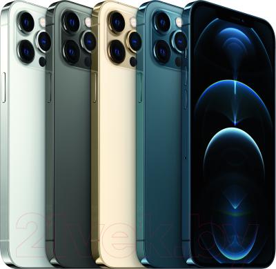 Смартфон Apple iPhone 12 Pro Max 512GB / MGDL3 (тихоокеанский синий)