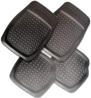 Комплект ковриков для авто AVG 203002 (4шт, черный) -