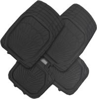Комплект ковриков для авто AVG 203018 (4шт, черный) -