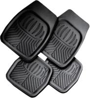 Комплект ковриков для авто AVG 203028 (4шт, черный) -