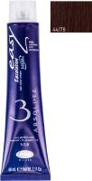 Крем-краска для волос Lisap Escalation Easy Absolute 3 44/78 (60мл, глубокий каштановый мокко) -