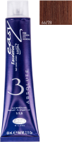 Крем-краска для волос Lisap Escalation Easy Absolute 3 66/78 (60мл, темный блондин глубокий мокко) -