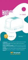 Сменные пакеты для туалета Ferplast Maxi Bella / 85363724 -
