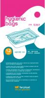 Сменные пакеты для туалета Ferplast NIP Plus Birman / 85361724 -