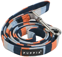 Поводок Puppia Bryson / PAUD-AL1844-NY-M (голубой) -