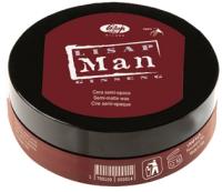 Воск для укладки волос Lisap Man Полупрозрачный (100мл) -