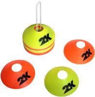 Конус тренировочный 2K Sport 127805 (5см, standart, желтый/оранжевый) -