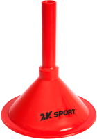 Конус тренировочный 2K Sport 127905 (красный) -