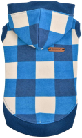 Толстовка для животных Puppia Curtis / PAUD-TS1846-BL-XL (голубой) -
