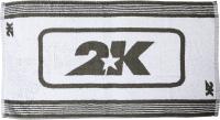 Полотенце 2K Sport Trainer 40x80 / 116003 (белый/серый) -