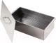 Коптильня Кедр С поддоном 50x27x27.5 / К2-0.8БНП-В (0.8мм, нержавеющая сталь) -