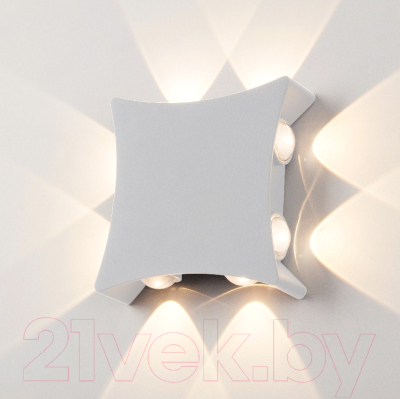 Бра уличное Elektrostandard 1631 Techno LED (белый)