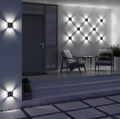 Бра уличное Elektrostandard 1631 Techno LED (черный)