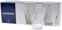 Набор стаканов Luminarc Shetland Sculpture P2767 (3шт) -