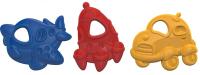 Набор прорезывателей для зубов Нордпласт Грызунки: машина, ракета, самолет / 775 -