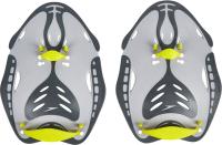 Лопатки для плавания Speedo BioFUSE Power Paddle / B076 (L, зеленый/серый) -