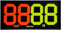 Табло спортивное 2K Sport 126318 (черный) -