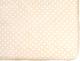 Простыня детская Martoo Comfy 90x200 / СM90x200-1-BG (бежевый горох) -