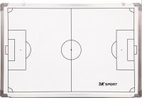 Тактическая доска 2K Sport Магнитно-маркерная для футбола / 127091 (белый) -