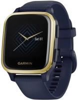 Умные часы Garmin Venu Sq Music / 010-02426-12 (темно-синий) -