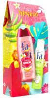 Набор косметики для тела Fa Fa Гель д/д Umuhei Spa Секр Полинезии+Дез Fresh&Free Лайм и коко (250мл+150мл) -