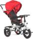 Детский велосипед с ручкой Sundays SJ-BT-6 (красный) -