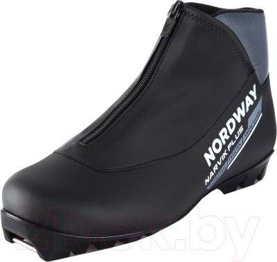 Ботинки для беговых лыж Nordway 17NRBPBA44 / A17ENDXB008-BA (р-р 44, черный/серый)