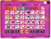 Развивающая игра Умка Сенсорный планшет. Царевны Азбука и счет / HX82015-R14 -