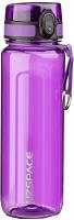 Бутылка для воды UZSpace Tritan One Touch / 6018 (500мл, фиолетовый) -
