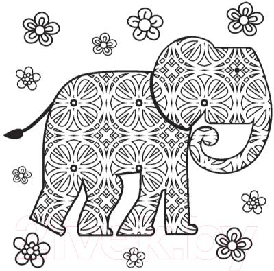 Раскраска-антистресс Попурри Арт-терапия. Великолепная природа и ее обитатели