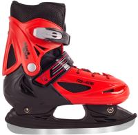 Ролики-коньки Black Aqua АS-406 (р-р 26-29, красный) -