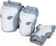 Комплект защиты Reaction PRK1 G/PRK1-5-09 (M, белый/серебристый) -