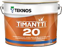 Краска Teknos Timantti 20 PM3 (900мл, полуматовый прозрачный) -