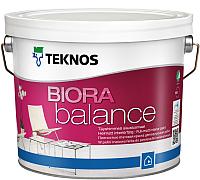 Краска Teknos Biora Balance Base 3 (900мл, белый) -